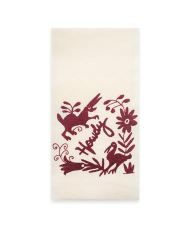 Nativa Embroidered Howdy Kitchen Towel