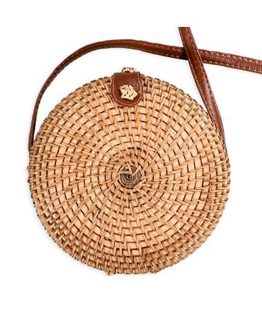 Straw Woven Crossbody Bag