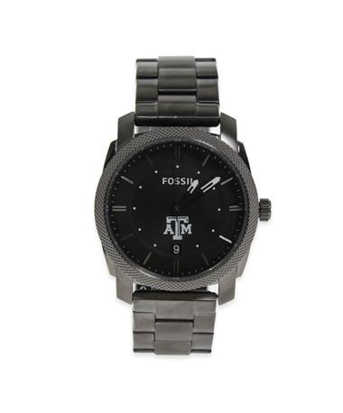 Texas A&M Fossil Men's Stainless Steel Watch