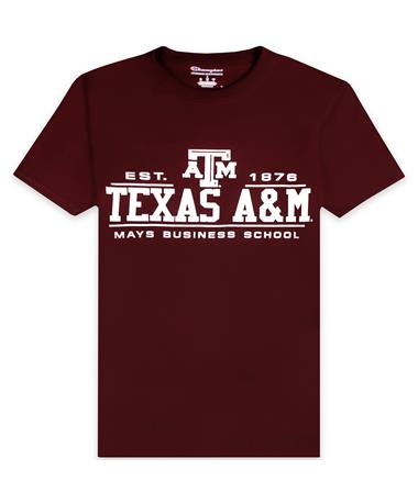 Texas A&M Champion Mays Business School T-Shirt