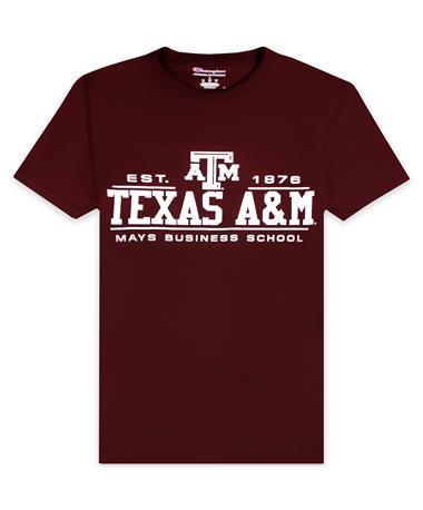 Texas A&M Champion Mays Business School T-Shirt