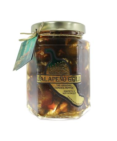 Jalapeño Gold Candied Jalapeno Peppers