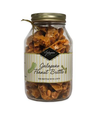Jalapeño Gold Peanut Brittle