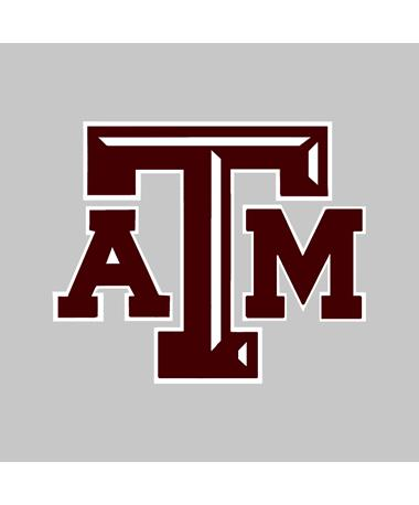 """Texas A&M Chiseled Logo 3"""" Decal"""