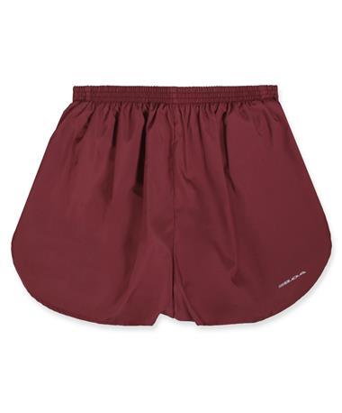 """Maroon BOA 1.5"""" Split Tracker Shorts"""