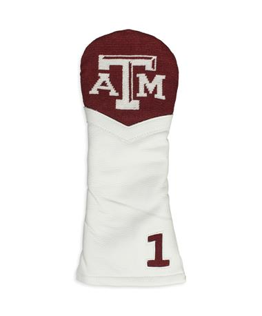 Texas A&M Smathers & Branson Needle Point Golf Driver Headcover