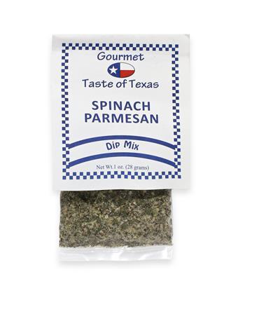 Gourmet Taste of Texas Spinach Parmesan Dip Mix