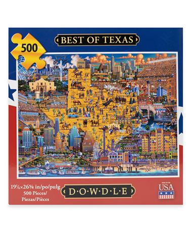 Best of Texas 500 Piece Dowdle Puzzle