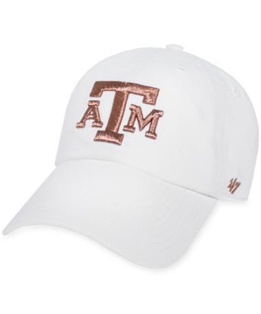 Texas A&M '47 Brand Rose Gold Clean Up Cap