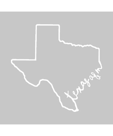 Texas A&M Lone Star State Vinyl Decal