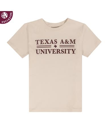 Texas A&M Youth Double Line T-Shirt
