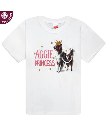 Texas A&M Reveille Aggie Princess Youth T-Shirt