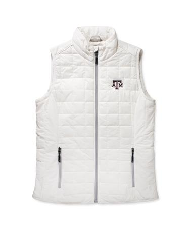 Texas A&M Cutter & Buck Women's Rainier Vest