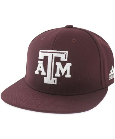 Texas A&M Adidas Custom Fitted Baseball Cap