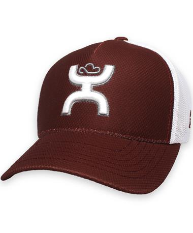 Texas A&M Hooey Maroon & White Fitted Cap