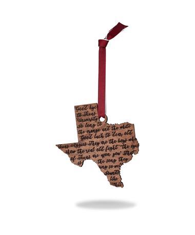 Texas A&M Aggie War Hymn Ornament
