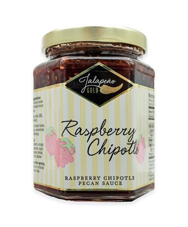Jalapeño Gold Raspberry Chipotle Pecan Sauce