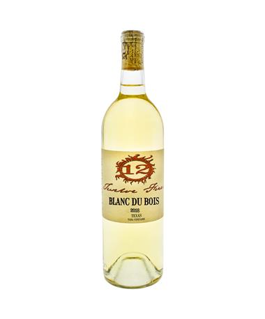 IN STORE PICKUP OR LOCAL DELIVERY ONLY: 12 Fires Blanc Du Bois 2018 Wine