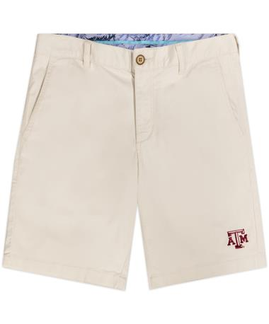 Texas A&M Tommy Bahama Boracay Cream Shorts