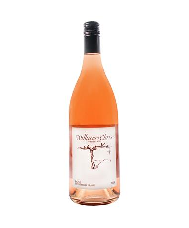 IN STORE PICKUP OR LOCAL DELIVERY ONLY: William Chris Texas High Plains Rosé 2018