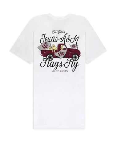 Texas A&M Let Your Flags Fly Pups & Truck V-Neck