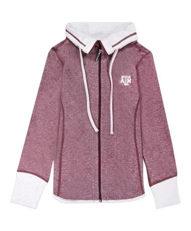 Texas A&M Sport Sun Fade Full Zip