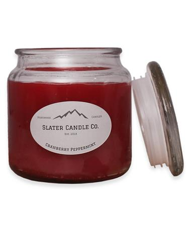 Slater Cranberry Peppermint Candle