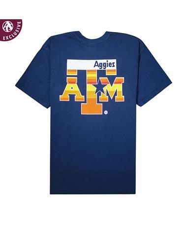 Texas A&M Blue & Orange Star Youth T-Shirt