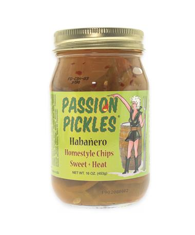 Habanero Passion Pickles