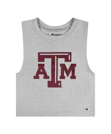 Texas A&M Champion Ultimate Fan Crop Top