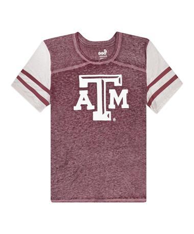 Texas A&M School Spirit Youth Football Tee