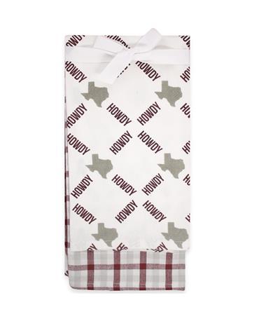 Texas Tea Towel Two Pack