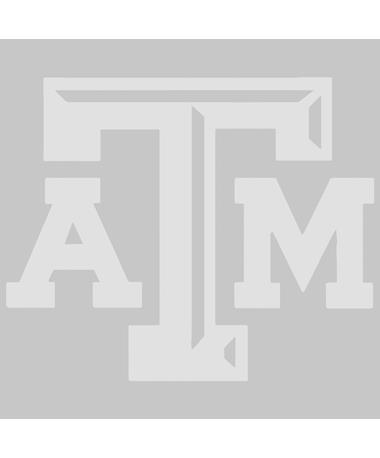 Texas A&M Frosted Glass Beveled ATM Decal