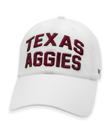 Texas A&M Aggies '47 Brand Block Lettering Hat