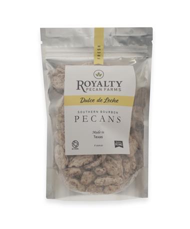 Royalty Farms Dulce De Leche Pecans - 8 Ounces