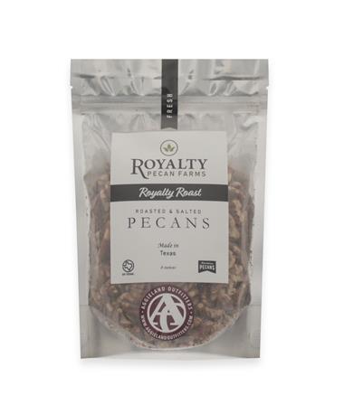 Royalty Farms Royalty Roast Pecans - 8 Ounces