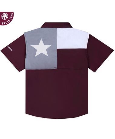 Texas A&M Toddler Flag Fishing Shirt