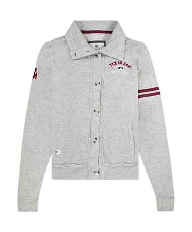 Texas A&M Colosseum Leslie Button Up Cardigan
