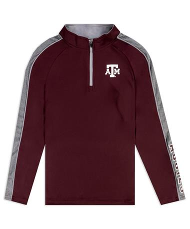 Texas A&M Youth Colosseum  1/4 Zip Windshirt