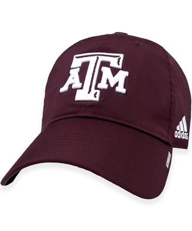 Texas A&M Adidas Coaches Slouch Adjustable Hat