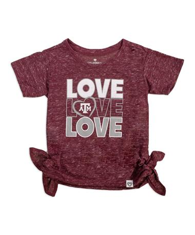 Texas A&M Colosseum Triple Love Toddler Tee