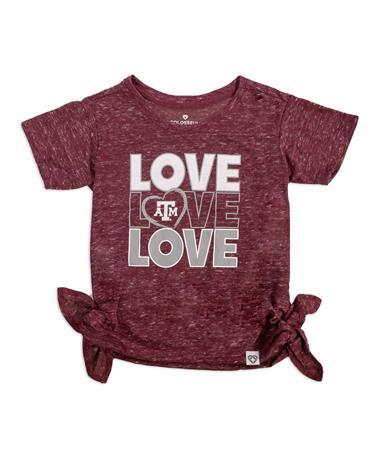 Texas A&M Colosseum Triple Love Toddler Tee