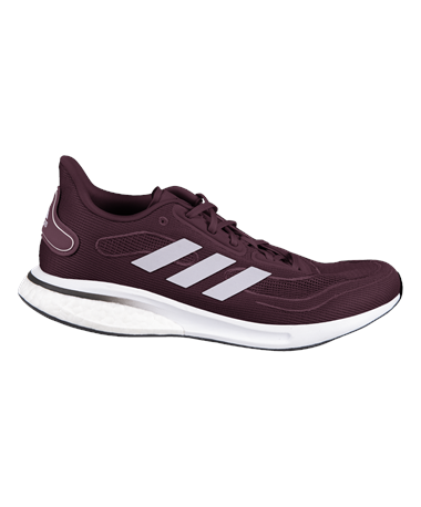 Maroon Adidas 2020 Supernova Shoes