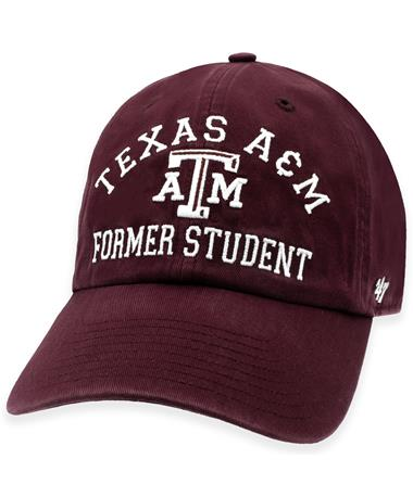 Texas A&M '47 Brand Former Student Archway Clean Up Cap