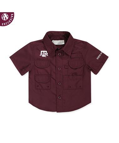 Texas A&M Toddler Maroon Fishing Shirt
