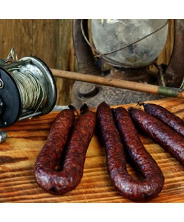 Prasek's Smokehouse Dried Pork & Beef Sausage