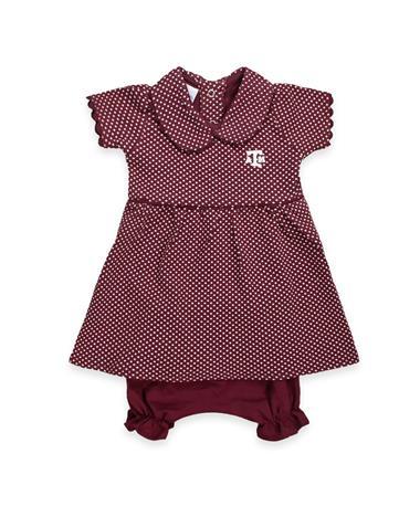 Texas A&M Infant Peter Pan Dress
