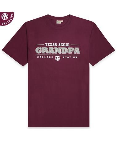Texas A&M Simple Grandpa T-Shirt