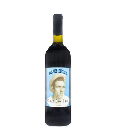 IN STORE PICKUP OR LOCAL DELIVERY ONLY: Blue Mule Winery Cigar Box Jack Red Wine