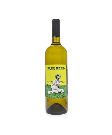 IN STORE PICKUP OR LOCAL DELIVERY ONLY: Blue Mule Winery Pretty In Peach White Wine